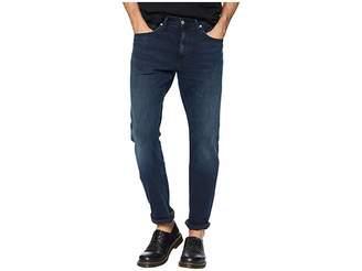 Calvin Klein Jeans CKJ 056 Athletic Taper Jeans in Boston Blue/Black