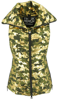 Think Royln Spice Fitted Vest