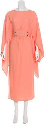 Sies Marjan Scoop Neck Maxi Dress w/ Tags Coral Scoop Neck Maxi Dress w/ Tags