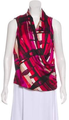 Calvin Klein Printed Sleeveless Top w/ Tags
