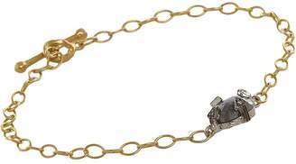 Cathy Waterman Women's Rustic Diamond Bracelet