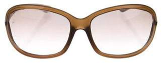 Tom Ford Jennifer Oversize Sunglasses