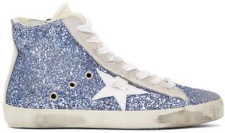Golden Goose Blue Francy Sneakers