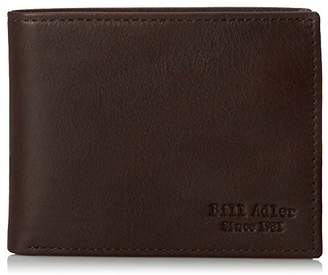 Bill Adler Men's Pebble Leather Passcase