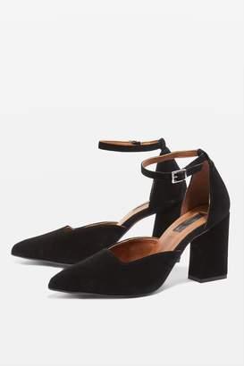 Topshop Gloria Two Part Court Shoes