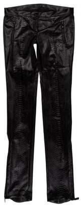 Barbara Bui Low-Rise Printed Pants