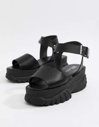 df0941cc99 Asos Design DESIGN Foxie chunky flatform sandals
