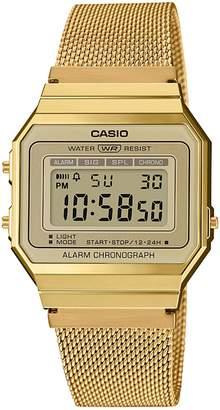 Casio Vintage Digital Mesh Bracelet WatchA700WMG-9AVT