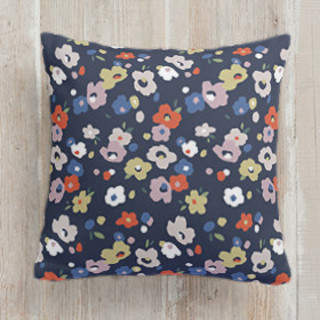 Scattered Posies Self-Launch Square Pillows