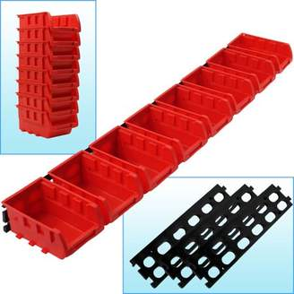8 Bin Wall Mounted Parts Rack by Stalwart
