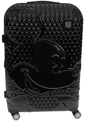 "Ful Disney Textured Mickey 29"" Hardside Spinner Suitcase"