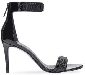 KENDALL + KYLIE Mia Leather Ankle Strap Sandals