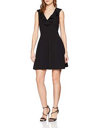 Morgan Women's 191-RODINE.P Evening Dress, Black Noir, 8
