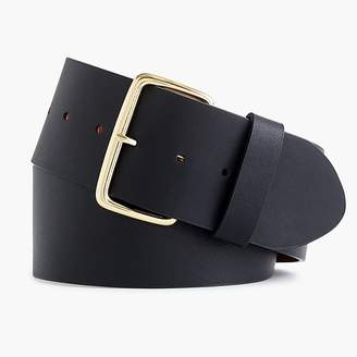 J.Crew Wide leather belt