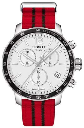 Tissot Men's Quickster Chronograph NBA Chicago Bulls Watch, 36mm