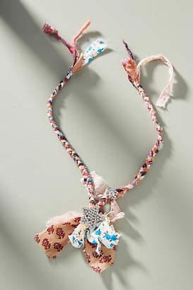 Dannijo Daphne Fabric Bib Necklace
