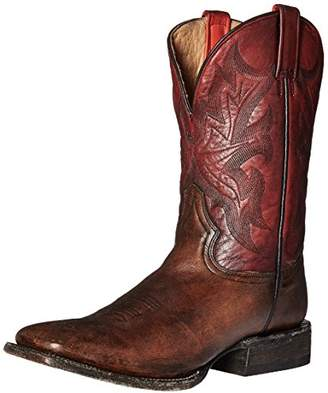 Stetson Men's Two Tone Honey Cow Riding Boot