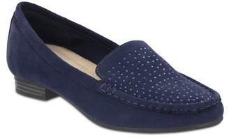 MIA AMORE Mary Studded Slip-On Moccasin
