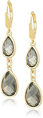 Laundry by Shelli Segal Pear Double Drop Earrings