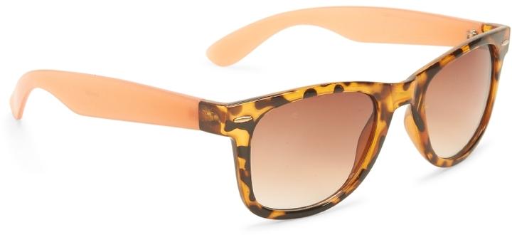 Aeropostale Tortoiseshell Colorblock Sunglasses