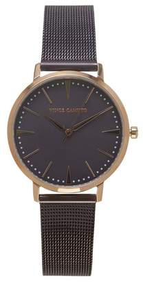 Vince Camuto Purple Mesh-band Watch