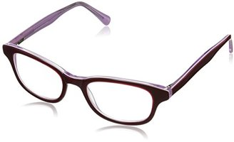 A.J. Morgan Women's Old School Rectangular Reading Glasses $42 thestylecure.com