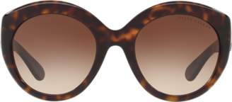 Ralph Lauren Gradient Round Sunglasses