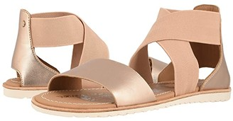 e001a425a Sorel Gold Women's Sandals - ShopStyle