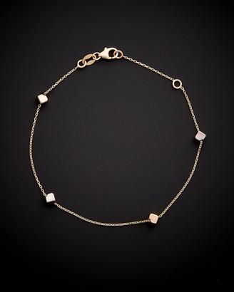 Italian Gold 14K Two-Tone Bracelet