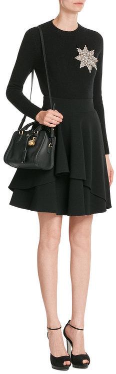 Alexander McQueenAlexander McQueen Mini Padlock Leather Shoulder Bag