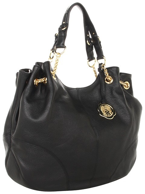 Vince Camuto - Jack Drawstring (Black Caviar) - Bags and Luggage