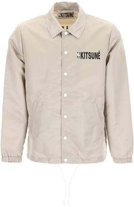 MAISON KITSUNÉ Logo Print Jacket