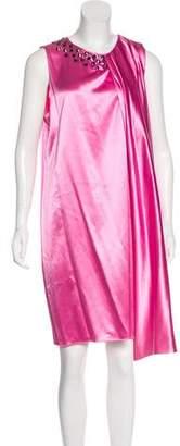 Thomas Wylde Embellished Silk Dress w/ Tags