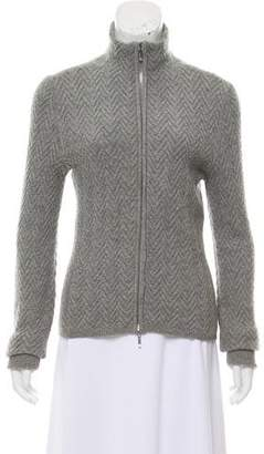 Loro Piana Cashmere Zip-Up Cardigan