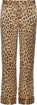 EQUIPMENT X Kate Moss Avery silk trousers $288 thestylecure.com