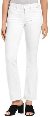 Mavi Jeans Sydney Flared Jeans in White Gold