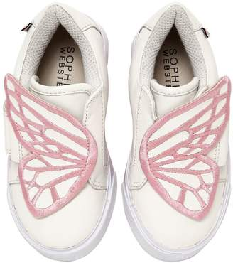 Sophia Webster Bibi Mini Leather Sneakers
