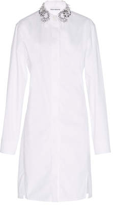 Paco Rabanne Embroidered Shirt Dress