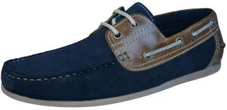 Red Tape Stratton Mens Leather suede Boat / Deck Shoes