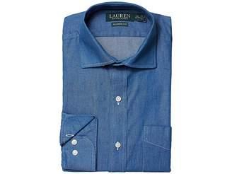 Lauren Ralph Lauren Classic Fit No Iron Cotton Dress Shirt Men's Long Sleeve Button Up