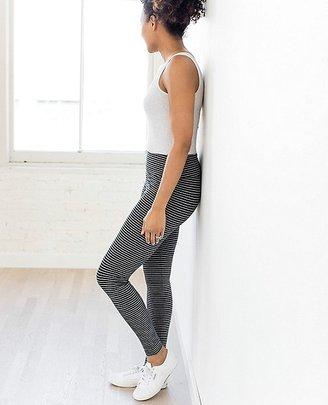Women's Signature Striped Leggings $68 thestylecure.com