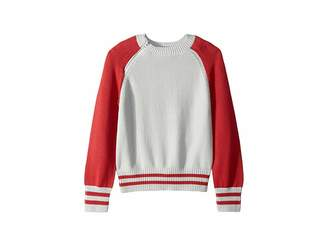 Maddie by Maddie Ziegler Raglan Colorblock Sweater (Big Kids)