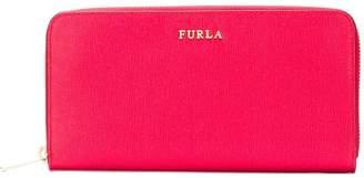 Furla all around zip wallet