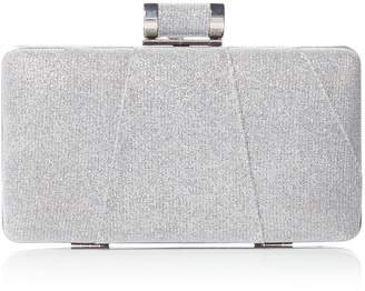Issa Sofia deco box clutch