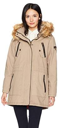 Steve Madden Women's Cotton Anorak Jacket
