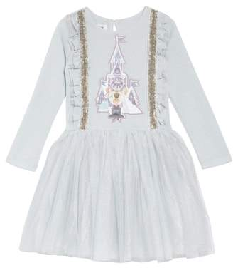 Pippa & Julie x Disney(R) Frozen Applique Tutu Dress