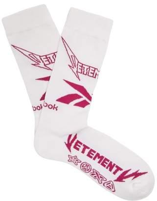 Vetements X Reebok Metal Socks - Womens - White