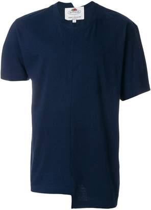 Cédric Charlier asymmetric front T-shirt
