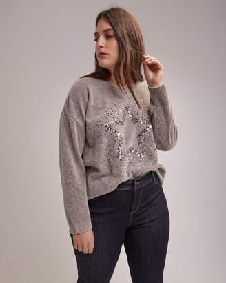 Sequins Knit Sweater - d/C JEANS