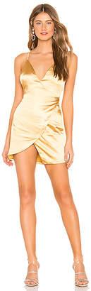 About Us Catalina Wrap Mini Dress